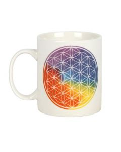 The Flower Of Life Ceramic Mug