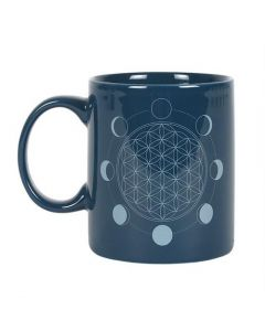 The Moon Phase Flower Of Life