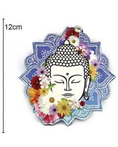 Wallet Buddha 12x12cm