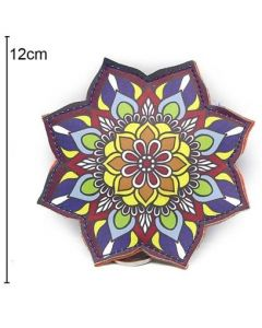 Wallet Flower 12x12cm