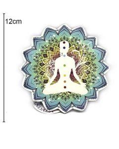 Wallet Meditation 12x12cm