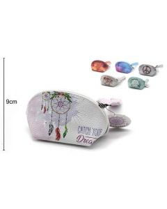 Wallet Oval Catch Your Dream 15x9x8cm (2 pieces)
