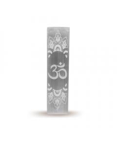 Selenite Incense Holder OM 15cm