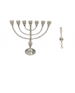 Candlestand Nickel 7 hole