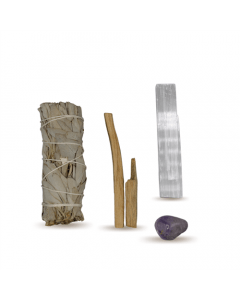 Energy Cleansing Smudge Kits w/ Amethyst