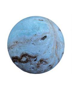 Caribbean Blue Calcite Spheres Medium