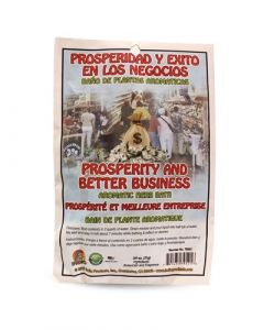 Prosperity and better business aromatic herb bath