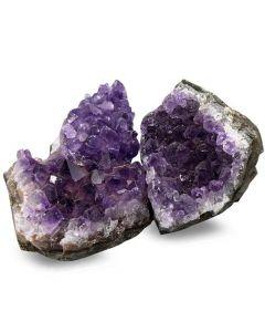 Amethyst crystal groups Uruguay 50-70mm 500 gram