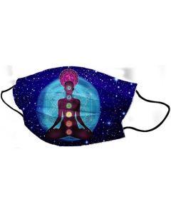 Yogi Mondkapje Chakra Meditation