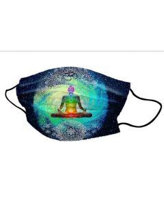 Yogi Mondkapje 7 Chakra's Meditation