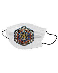 Yogi Mondkapje Flower of Life