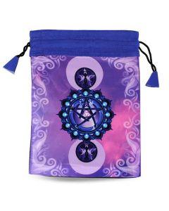 Pentagram Printed Bag 15x20 cm