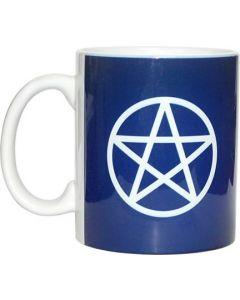 Koffiemok Pentagram Wit