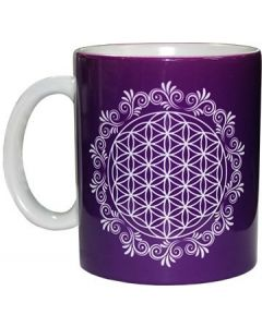 Koffiemok Flower of Life