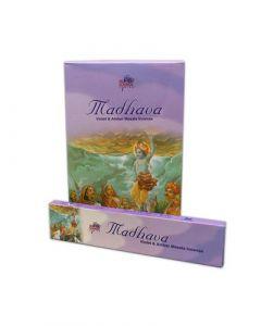 Sri Madhava Violet & Amber Masala Incense