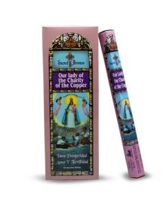 Sacred Aromas Hexa - Our Lady of Charity of the Copper Incense Sticks