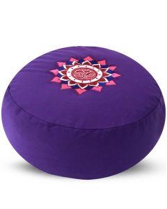 Meditatiekussen Om Lotus 36x17cm