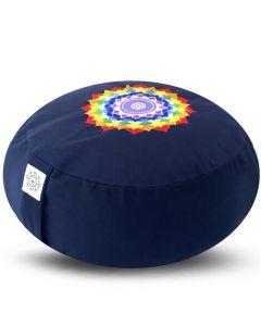 Meditatiekussen Chakra Lotus 36x17cm