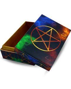 Pentagram Box 15x10cm.