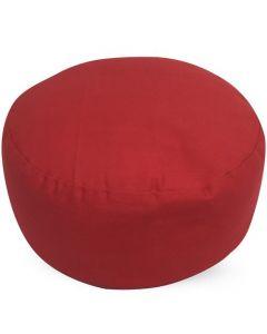 Meditatiekussen rood 36x17cm