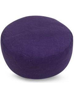 Meditatiekussen stonewash paars 36x17cm