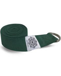 Yoga riem 270cm Groen