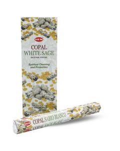 Hem Copal White Sage Hexa