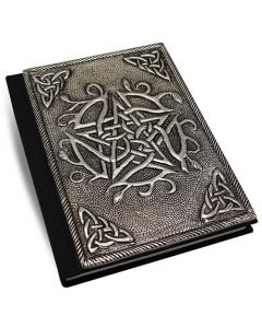 Dagboek met metalen Pentagram 10x15cm