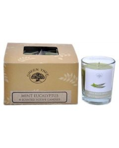 Geurkaars votives Mint & Eucalyptus 55gr.
