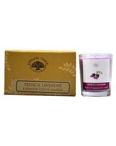 Geurkaars votives French Lavender 55gr.