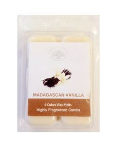 Wax Melts Madagascan Vanilla 80gr.