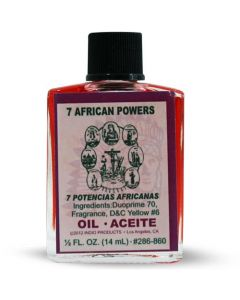 Indio 7 African Powers oil