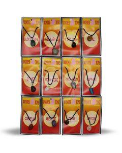 Astro Semi-Precious Ketting set (per 12)