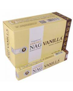 Golden Nag Vanille Wierook 15 gram