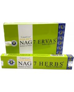 Golden Nag 7 Herbs Incense 15 grams