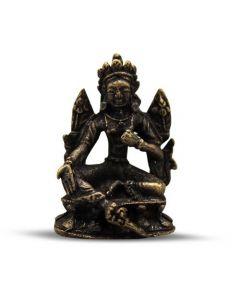 Mini Brass Tara Buddha Statue 3.5cm (12 pcs)
