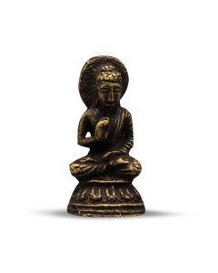 Mini Brass Sitting Buddha Statue 3.5cm (12 pcs)
