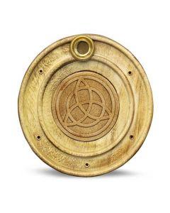 Houten Wierookhouder Pentagram 10 cm