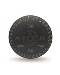 Wooden Pendulum Board Pentagram 30cm. Set of 2.