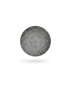 Wooden Pendulum Board Zodiac 30cm Set of 2